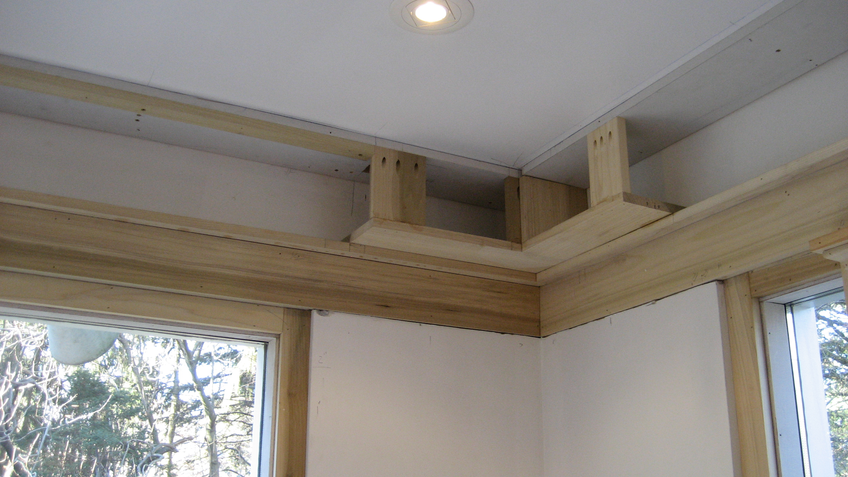 Custom Concealment For Motorized Shades